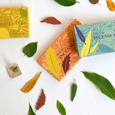 The leaves are falling outside and we have lovely incense leaves for inside. Breathe and relax! Link for shop in bio. 🍃🍂🍁 #aurovilledotcom #haveacolorfulday #incense #auroville #incensehandmade #incense #handmade #leaves #colorful #loveincense #happiness #shoponline