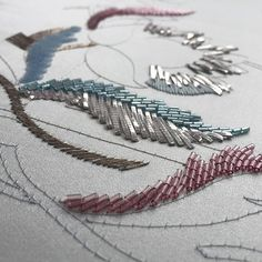 Lunch time, time to think about embroidery . #embroidery#broderie#letoandlesage#ecolelesage#ricamo#lunevilleembroidery#lunevillebroderie#silksatin#essentialsforliving#happytimes