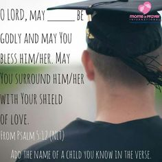 A scripture prayer for a child you know.
