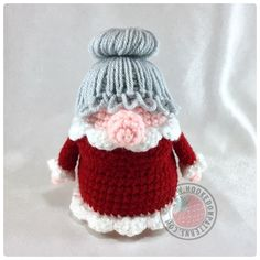 Christmas Eve Gonk Novelty Decoration Crochet Pattern