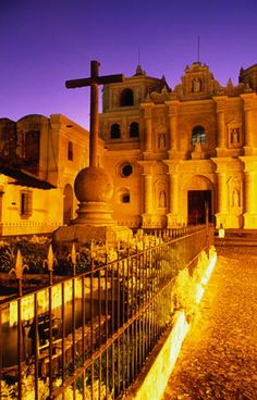 Guatemala Image Iglesia de La Merced, Guatemala Iglesia de La Merced at sunset.   Ryan Fox Lonely Planet Photographer © Copyright Lonely Planet Images 2011