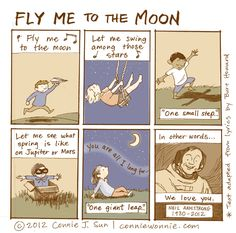 Connie to the Wonnie: Fly Me to the Moon by Connie Sun