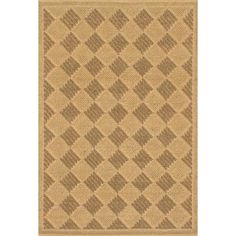 ECARPETGALLERY Impressions Braid Jute Handmade Light Gold/Olive Area Rug