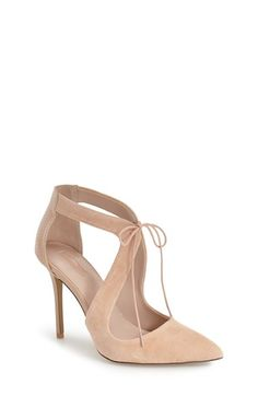 Topshop 'Genie' Lace-Up Pump (Women) available at #Nordstrom