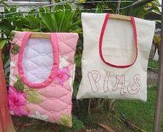 Clothespin bag to make