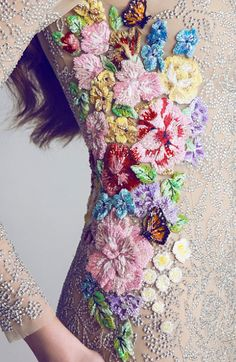 exquisite embroidery