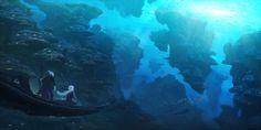Underwater culture (2016), Christian Dimitrov on ArtStation at https://www.artstation.com/artwork/KEY54