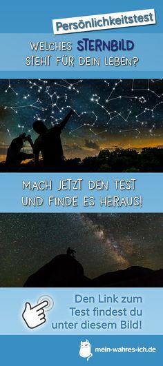 Welches Sternbild steht für dein Leben? Teste dich jetzt! #meinwahresich #persönlichkeitstest #sternbild #astro #sterne