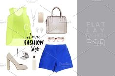 Fashion Set outfits (220) by Trefilova Anna on @creativemarket