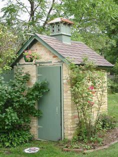Outhouse/Shed 1865 Italianate Mazomanie, Wisconsin