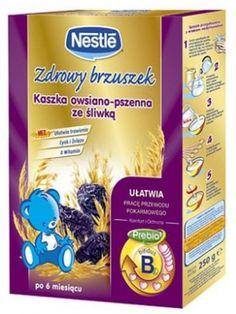 Kaszka Zdrowy brzuszek owsiano - pszenna ze śliwką pomaga łagodnie przechodzić przez wszelkie nowości kulinarne, które mogą być wyzwaniem dla małego brzuszka. Dodatek Bifidobacterium lactis i błonnika pomaga wspierać prawidłową florę bakteryjną i ułatwia funkcjonowanie przewodu pokarmowego. Śliwka nadaje kaszce wspaniały smak, a dzięki zawartości naturalnego błonnika sprzyja prawidłowej pracy jelit.