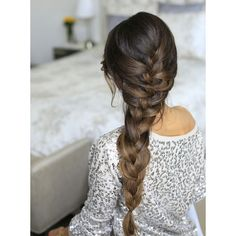 10 Easy Summer Braids ❤ liked on Polyvore featuring beauty products, haircare, hair styling tools, hair, hairstyles, beauty, cabelos and braids