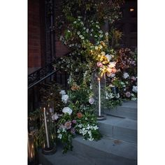 …here is a entryway detail from the High Line wedding in May.