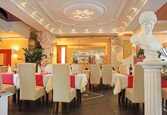 Ein italienisches Restaurant wie es authentischer kaum sein könnte. Durch die schöne Einrichtung und mediterrane Deko fühlt man sich direkt 1000 km in den Süden versetzt.