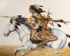 """Lord of the Plains"" - Artist: Enoch Kelly Haney  -  Tulsa Indian Art Market"