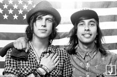 Kellin Quinn and Vic Fuentes. Yes. Just yes.