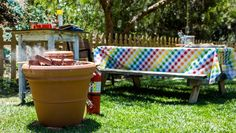 DIY your own outdoor Tandoor Oven! Created by Dan Kohler & Daniel Kucan! Tune in to #homeandfamily weekdays at 10/9c on Hallmark Channel!