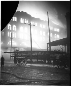 Photos: 'Disastrous fire' in 1905 threatened block at 11th and Howard