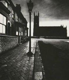 Bill Brandt (1904 - 1983) - Evening light in Burslem, c.1937