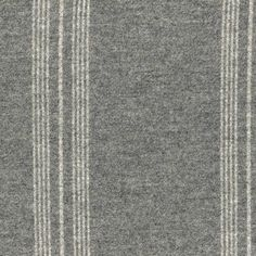 Sutton Grey - Offered in a sophisticated palette of 4 traditional Ian Mankin shades, this naturally flame-retardant striped fabric can be used effortlessly around the home on upholstery, curtains, blinds and accessories.