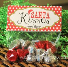 Santa Kisses - picture only