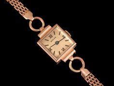 women's vintage 1940's  wristwatches   Details about 1940's ROLEX Vintage LADIES Dress Watch - 14K ROSE GOLD