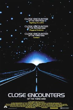 """Close Encounters of the Third Kind"" directed by Steven Spielberg / 2nd grossing film in 1977"