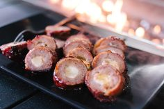 Recipes: Cheese Stuffed, Bacon Wrapped Hot Dogs | All Things Barbecue - The Sauce
