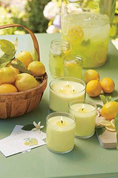 Cheers to Lemon Melon Mint!  Zingy and bright, the fresh, cheerful notes of Lemon Melon Mint inspires happiness. Sure to be a new favourite! Available from PartyLite in six popular forms.