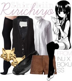 Inu x Boku SS casual cosplay when i'm actually doing her cosplay this year lmao