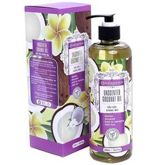 Milaganics Unscented Coconut Oil Natural 500 ML