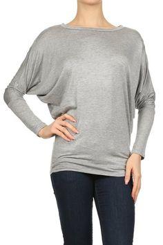 Long Dolman Sleeved Shirt | Southern Shine Mobile Boutique