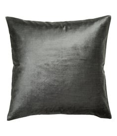 Check this out! Cushion cover in cotton-blend velvet. Concealed zip. - Visit hm.com to see more.