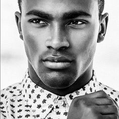 BEAUTIFUL BLACK MALE MEN MAN AFRICAN AMERICAN  Wow.. I went to junior high w| this guy !