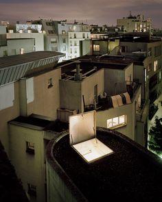 """série """"Sur Paris"""" - rue de Chartres 75018 Paris - France"""