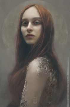 red by Eve Ventrue | Portrait | 2D | CGSociety