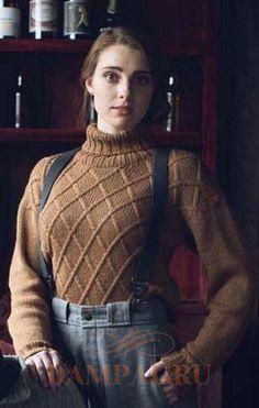теплый пуловер «Cork»