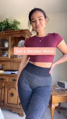 Small Waist Workout, Full Body Gym Workout, Summer Body Workouts, Slim Waist Workout, Gym Workout Videos, Gym Workout For Beginners, Fitness Workout For Women, Butt Workout, Flat Belly Workout