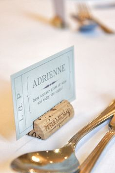 Ticket inspired place names for your wedding with a message for your guests