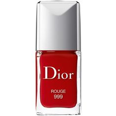 DIOR Vernis Gel Shine and Long Wear Nail Lacquer found on Polyvore