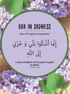 Dua in sadness Duaa Islam, Islam Hadith, Allah Islam, Islam Quran, Oh Allah, Quran Surah, Alhamdulillah, Beautiful Dua, Beautiful Islamic Quotes