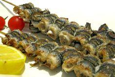hamsi şiş - turkish food - türk yemekleri