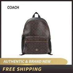 Shop now for our Women Brown Coach Charlie Backpack # coach backpack coach backpack coach backpack Coach Backpack, Sling Backpack, Cute Gifts For Her, Watch Necklace, Watch Case, Fashion Backpack, Iphone Cases, Women Jewelry, Backpacks