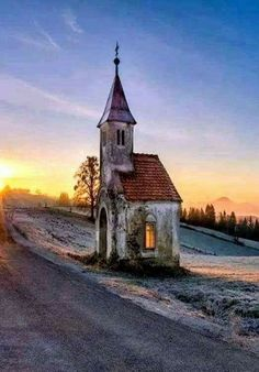 Little Chapel in the middle of nowhere