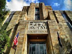 Old Boulder County Courthouse. Boulder, Colorado. Art Deco. 1933. Glen H. Huntington.