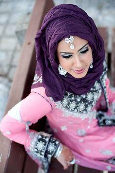 Hijaabi Bride   Photo by Noor