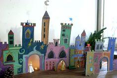 El hada de papel: Castillo 02 / Castle 02 / Schloss 02