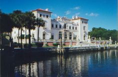 Kayaked infront of Vizcaya today in Miami. Absolutely stunning!