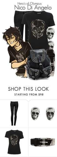 """""""♚: heroes of olympus: nico di angelo. 