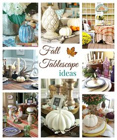 """Make a simple and festive fall wreath this year. See 32 fall projects for mega awesome fall inspiration in wreaths, mantels, tablescapes and fall crafts in the Fall Ideas Tour. www.H2OBungalow.com #Fall """"Falldecor #FallIdeasTour"""